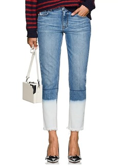 Derek Lam 10 Crosby Women's Mila Bleached Boyfriend Jeans