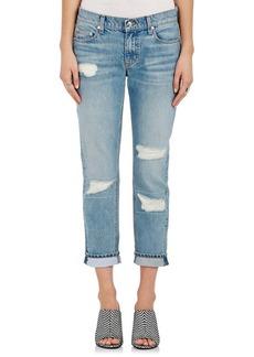 Derek Lam 10 Crosby Women's Mila Distressed Slim Boyfriend Jeans