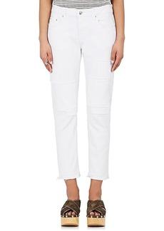 Derek Lam 10 Crosby Women's Mila Patchwork Crop Jeans