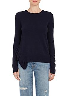 Derek Lam 10 Crosby Women's Ruffle-Detailed Knit Cashmere Sweater