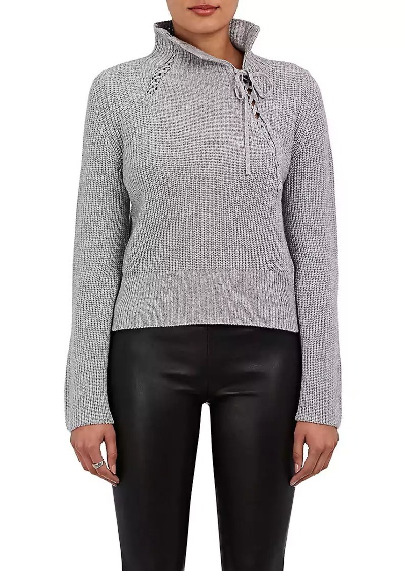 Derek Lam 10 Crosby Women's Self-Laced Wool-Blend Sweater