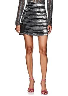 Derek Lam 10 Crosby Women's Sequined Chiffon Miniskirt