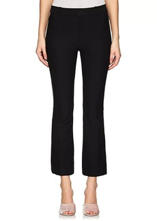 Derek Lam 10 Crosby Women's Stretch-Cotton Crop Flared Pants