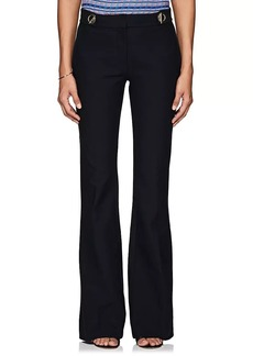 Derek Lam 10 Crosby Women's Stretch-Cotton Flared Pants