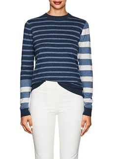 Derek Lam 10 Crosby Women's Striped Cotton-Cashmere Sweater