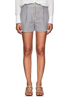 Derek Lam 10 Crosby Women's Striped Cotton Shorts