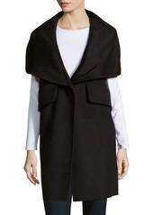 Derek Lam 10 Crosby Wool-Blend Long-Sleeve Coat