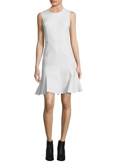 Derek Lam 10 Crosby Back Cut-Out Fit-and Flare Dress