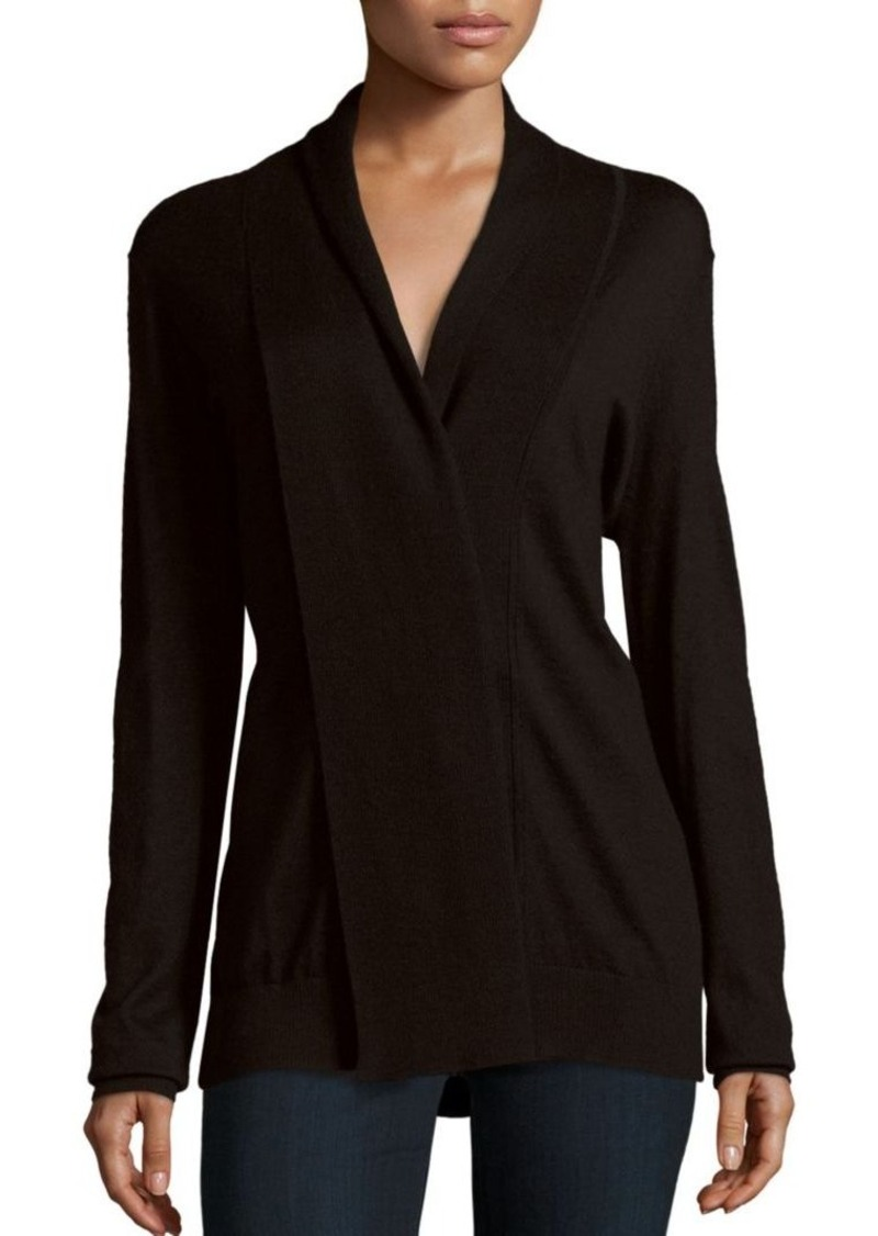 Derek Lam Cashmere Silk Mixed Media Top