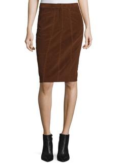 Derek Lam Corduroy Pencil Skirt