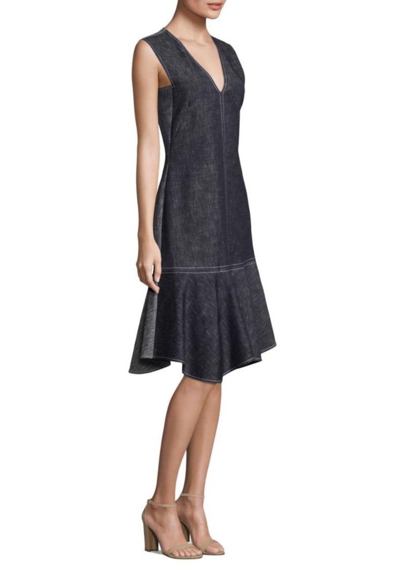Derek Lam Sleeveless Denim Dress