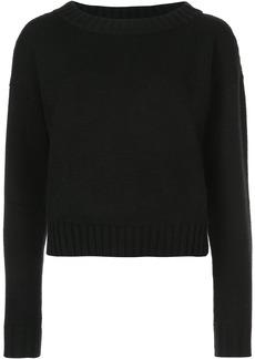 Derek Lam Cropped Sweater - Black