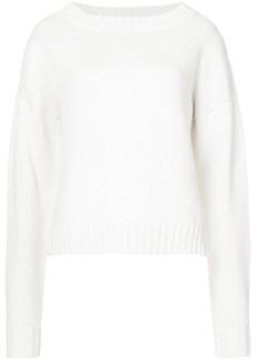 Derek Lam Cropped Sweater - White