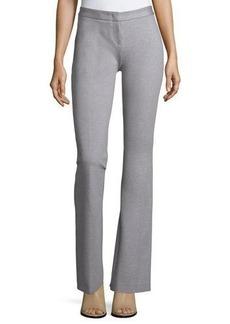 Derek Lam Flat-Front Flared Pants