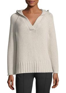Derek Lam Knit Hoodie Sweater