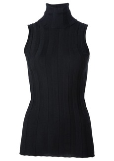 Derek Lam Elle Ribbed Sleeveless Turtleneck