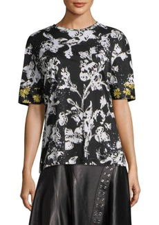 Derek Lam Short-Sleeve Cotton Tee
