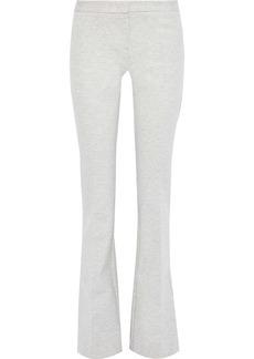 Derek Lam Woman Alana Jersey Bootcut Pants Light Gray