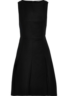 Derek Lam Woman Cotton-blend Cady Mini Dress Black