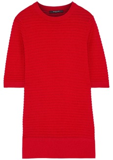 Derek Lam Woman Ribbed Cashmere Sweater Tomato Red