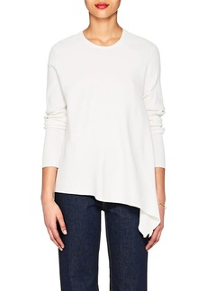 Derek Lam Women's Asymmetric Rib-Knit Sweater
