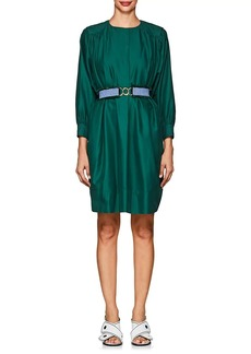 Derek Lam Women's Belted Cotton Shift Dress