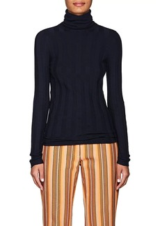 Derek Lam Women's Cashmere-Blend Turtleneck Sweater