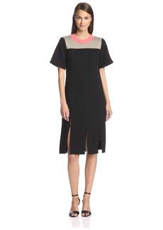 Derek Lam Women's Colorblock A-Line Dress