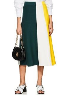 Derek Lam Women's Colorblocked Maxi Skirt