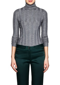 Derek Lam Women's Core Cashmere-Blend Turtleneck Sweater