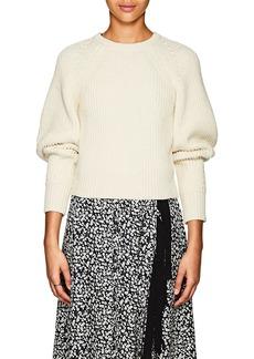 Derek Lam Women's Cotton-Blend Crop Sweater