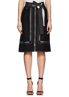 Derek Lam Women's Crepe Belted Skirt