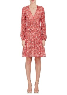 Derek Lam Women's Floral Silk Crêpe Dress