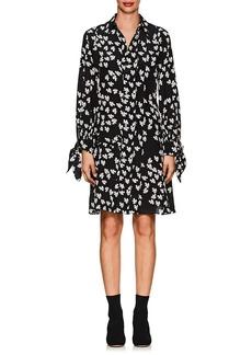Derek Lam Women's Floral Silk Shirtdress