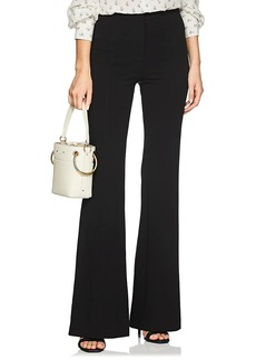 Derek Lam Women's Georgia Stretch-Jersey Wide-Leg Trousers