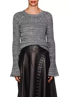 Derek Lam Women's Mélange Cotton Sweater