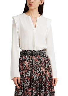 Derek Lam Women's Silk Georgette Blouse