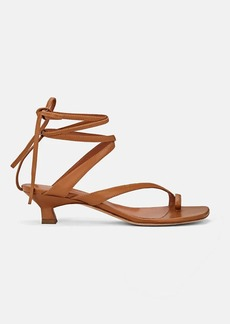 Derek Lam Women's Sirene Leather Ankle-Tie Sandals