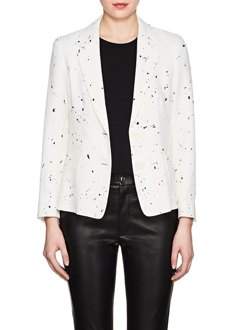 f67d26d1818c Derek Lam Derek Lam Women's Splatter-Print Crepe Two-Button Blazer ...