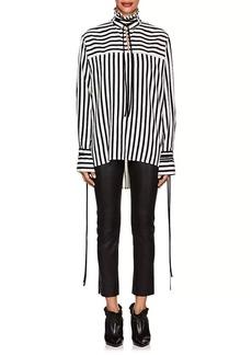 Derek Lam Women's Striped Silk Blouse