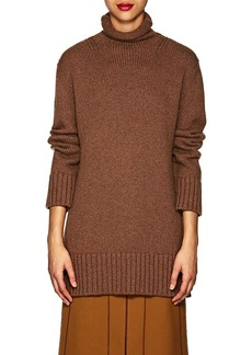 Derek Lam Women's Turtleneck Cashmere-Cotton Sweater