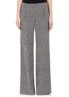 Derek Lam Women's Tweed Wide-Leg Trousers