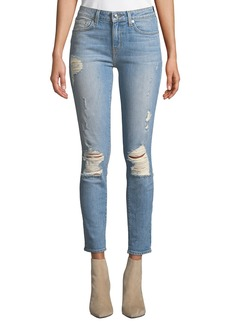 Derek Lam Devi Mid-Rise Authentic Skinny Jeans
