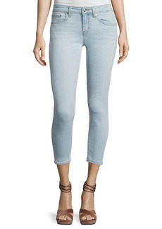 Derek Lam Devi Mid-Rise Cropped Authentic Skinny Jeans
