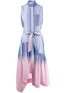 Derek Lam dip dye striped dress