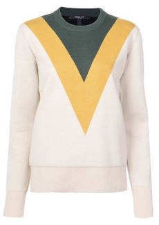 Derek Lam Doubleface Crewneck Sweater