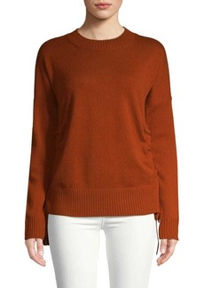 Derek Lam Dropped Shoulder Cashmere Sweatshirt