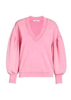 Derek Lam Edie V-neck Sweatshirt