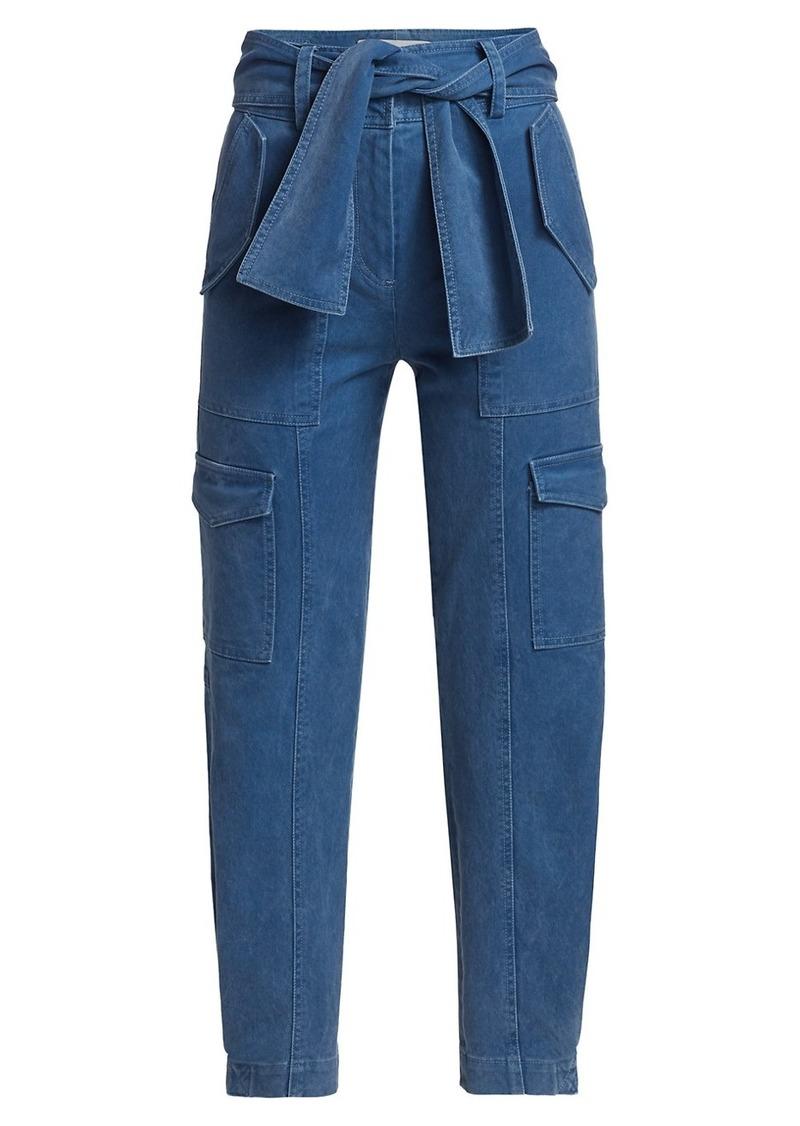 Elian Belted Cargo Trousers