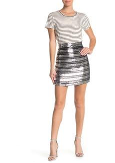 Derek Lam Embellished A-Line Skirt